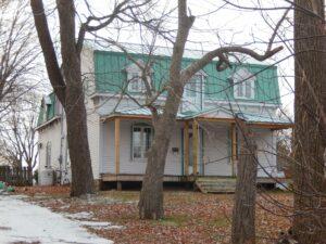 Anna Laberge's house