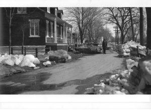 Ice jams and Break-ups - Boulevard Salaberry Sud