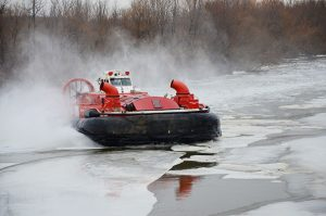 Ice jams and Break-ups - Air Glider