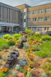 Grey Nuns' Legacy - Floral garden