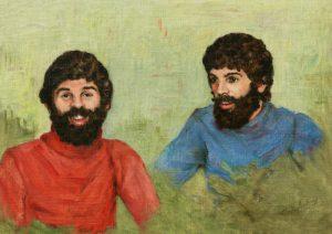 Painting of Jean-Pierre Houde