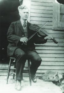 Joseph Allard playing the violin
