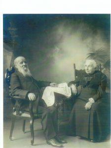 Alfred-Narcisse LePailleurand his wife Philomène Dalton