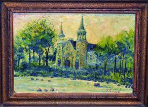Maison Gravel - painting