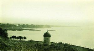 Vue du Moulin à vent de l'île Saint-Bernard et de la Rivière Châteauguay