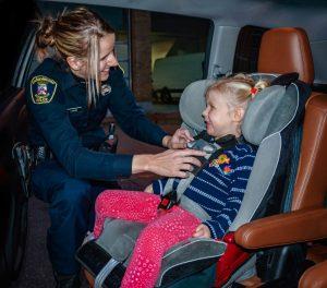 Photo - Vérification de siège d'auto pour enfant