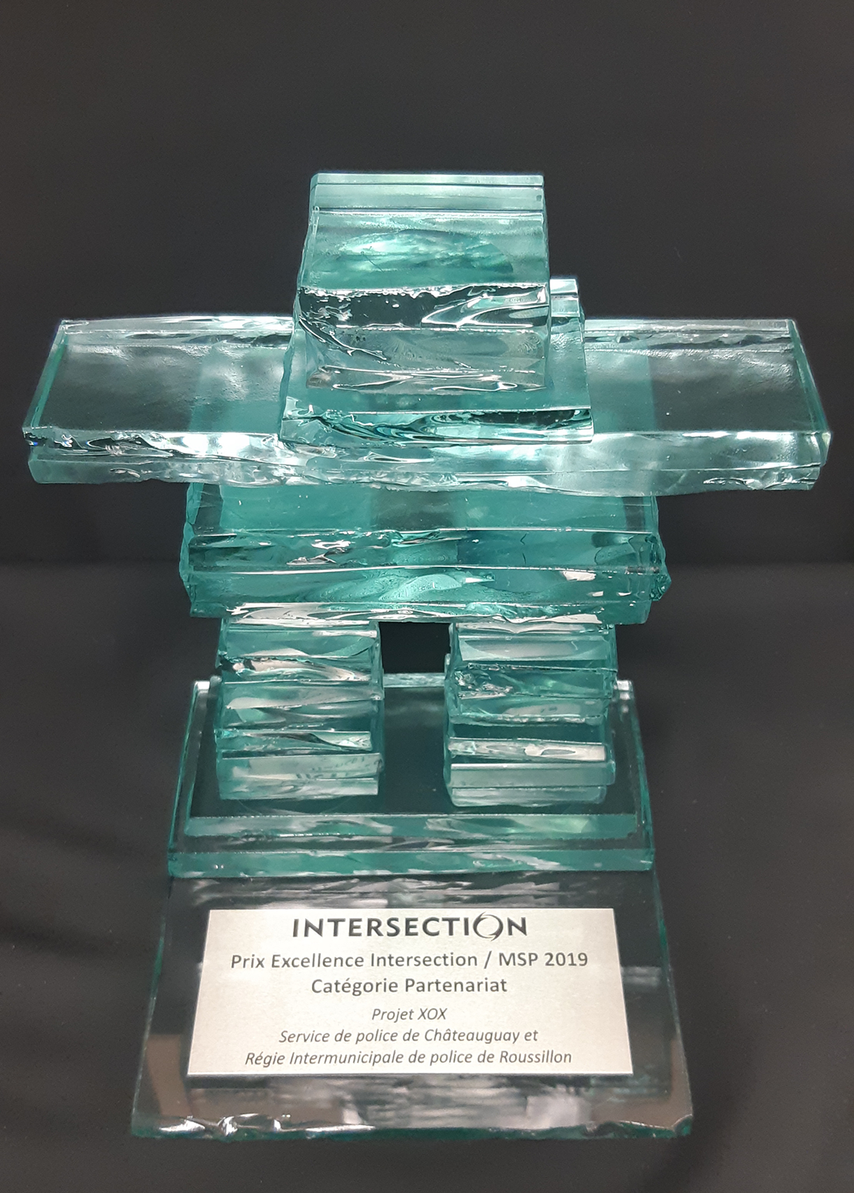 Trophée- Prix Excellence Intersection 2019