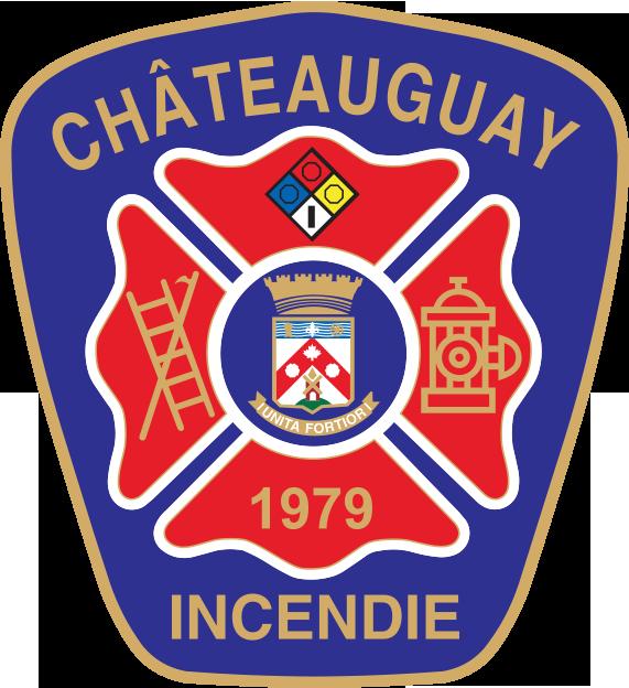 Logo du service d'incendie de Châteauguay