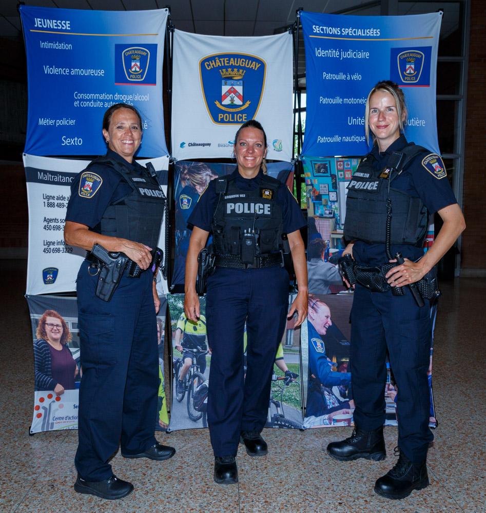 trois policières