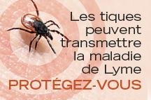 Annonce de prévention de la maladie de Lyme