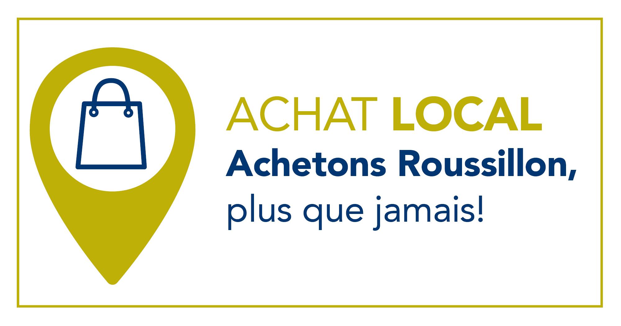 Logo de Achat local Achetons Roussillon