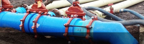 Waterworks pipes