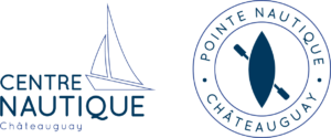 Centre nautique and pointe nautique logos