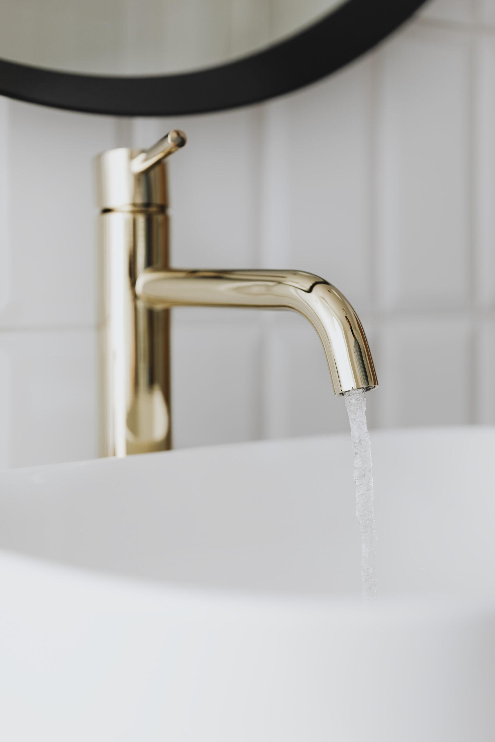 open faucet