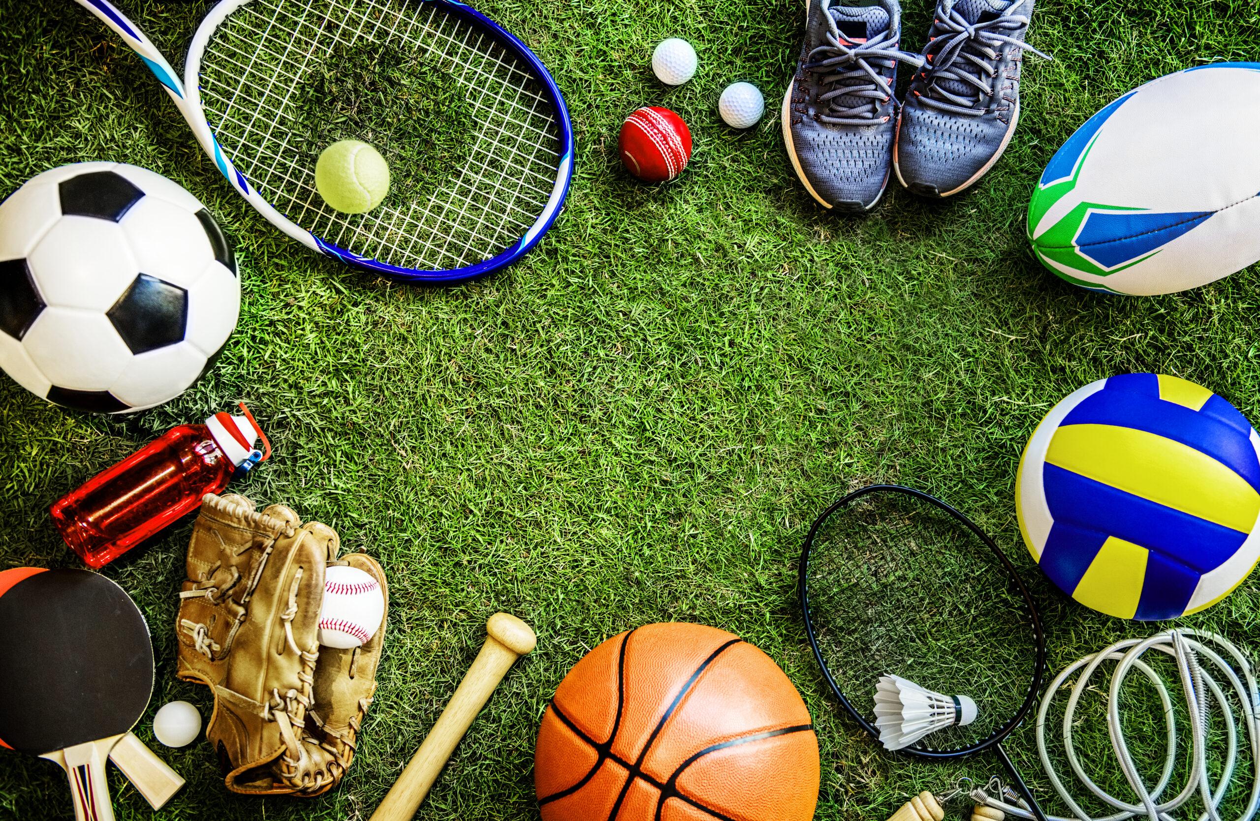 Regroupement d'équipements de sports