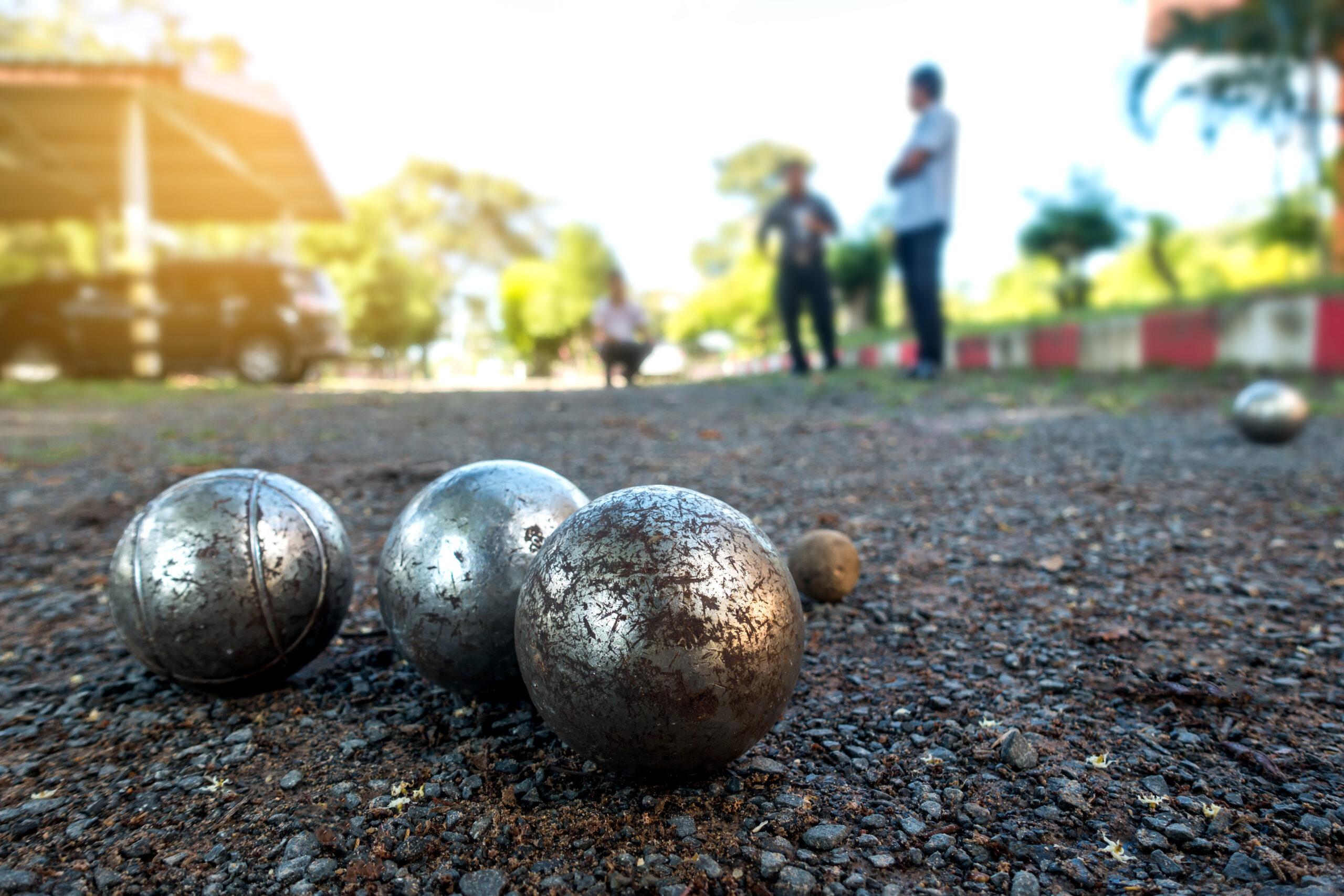 Boulles de pétanque