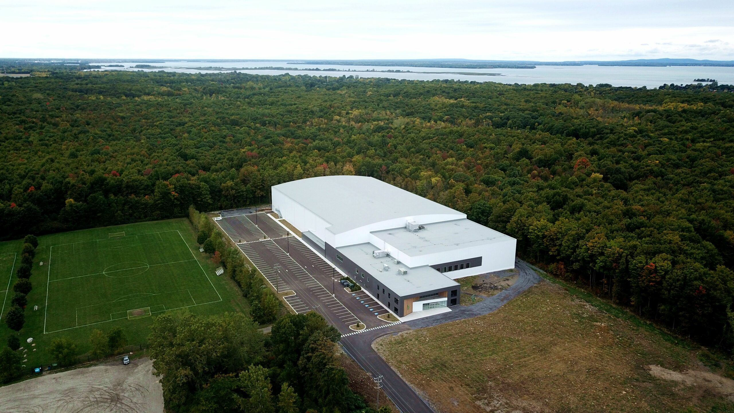 Aerial vue of the Sportplex